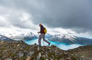 Hike in Canada Stock Photos