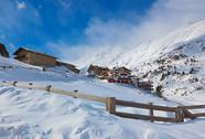 Mountain ski resort Obergurgl Austria Stock Photos