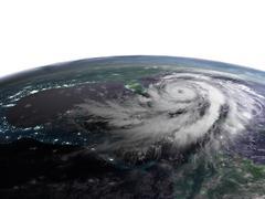 Hurricane night view Piirros