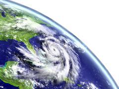 Hurricane Matthew in Caribbean Piirros