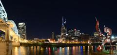City of Nashville Tennessee Stock Photos