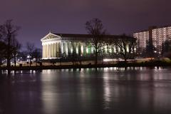 Parthenon in Nashville Tennessee Stock Photos