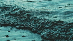 Beautiful bewitching excitement of the water. The movement of water. Stock Footage