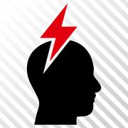 Headache Vector Icon Stock Illustration