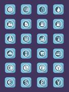 Buisiness icon set. Stock Illustration