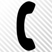 Phone Receiver Vector Icon Stock Illustration