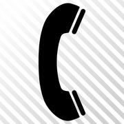 Phone Receiver Vector Icon Stock Illustration