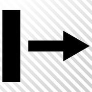 Pull Right Vector Icon Stock Illustration