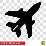 Airplane Eps Vector Icon Piirros