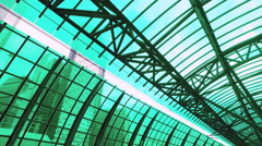 Moscow center ring (MCС) type of surface passenger transport Stock Footage