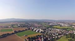 Frankfurt Aerial Stock Footage