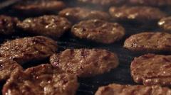 Turkish meatball grill in Bursa - Turkey. Stock Footage