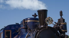 Old Steam Locomotive Acting HD Pro Stock Footage