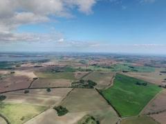 Island Ruegen - Germany - by drone Stock Footage