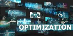 Optimization Stock Illustration