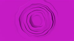 Abstract rotate tubes 3d render animation Stock Footage