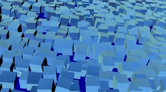 Abstract animated screen saver Stock Footage