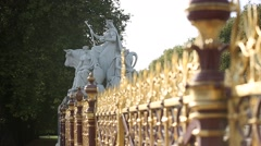 Prince Albert Memorial - Europe Stock Footage
