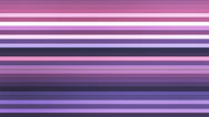 Broadcast Twinkling Horizontal Hi-Tech Bars, Purple, Abstract, Loopable, 4K Stock Footage