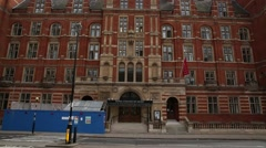 The Royal College of Music in London Stock Footage