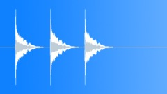 Positive Notification Sound, Multimedia SFX, Bell Ploing, 3 Times Sound Effect