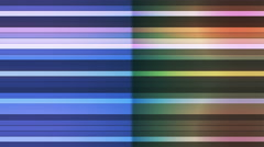 Broadcast Twinkling Horizontal Hi-Tech Bars, Multi Color, Abstract, Loopable, 4K Stock Footage
