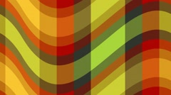 Cyclic animated wavy stripes Stock Footage