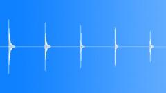 Arrow Impact, Hit On Wood, Recorded Behind Target, V2 Äänitehoste