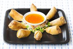 Vietnam food menu. Stock Photos