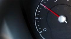 Car tachometer Stock Footage