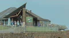 Scottish Seabird Centre, North Berwick Stock Footage