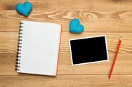 Writing love message Stock Photos
