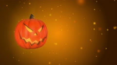 HalloWeen Background Evil Jack A (4K Resolution) Stock Footage