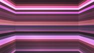 Broadcast Twinkling Horizontal Hi-Tech Bars Shaft, Purple, Abstract, Loop, 4K Stock Footage