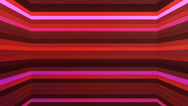 Broadcast Twinkling Horizontal Hi-Tech Bars Shaft, Red, Abstract, Loopable, 4K Stock Footage