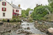 Pont-Aven in Brittany Stock Photos