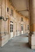 Corridor  at  the National Archives in Paris Stock Photos