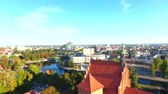 Polska, Bydgoszcz, Kościół farny, Opera Nova Stock Footage