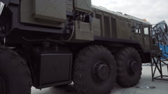 MAZ-535 - a family of four-heavy (8 × 8), the towing vehicle Stock Footage