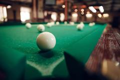 Billiard ball near pocket Kuvituskuvat