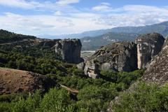 GREECE: Meteora: Agiatrias WS Stock Photos