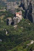 GREECE: Meteora: Agio Nikolaos Stock Photos