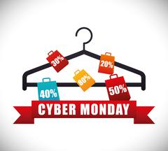 Cyber monday sale event Piirros