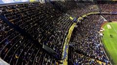 Boca Juniors Stadium, La Bombonera Stock Footage