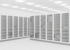 Network server room Piirros
