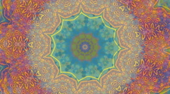 Colorful kaleidoscopic patterns. Stock Footage