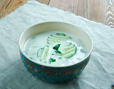 Persian Cucumber Yogurt Kuvituskuvat