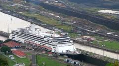 Panama Canal, Panama  Stock Footage