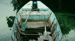 Old rusty boat, 4k Stock Footage