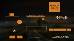 15 Minimal Titles v14 Stock After Effects